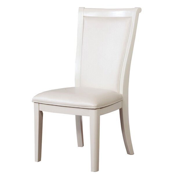 Pagoda Upholstered Dining Chair (Set of 2) by Darby Home Co