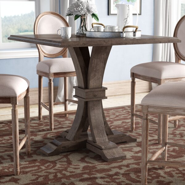 Parfondeval Square Counter Height Dining Table by Lark Manor