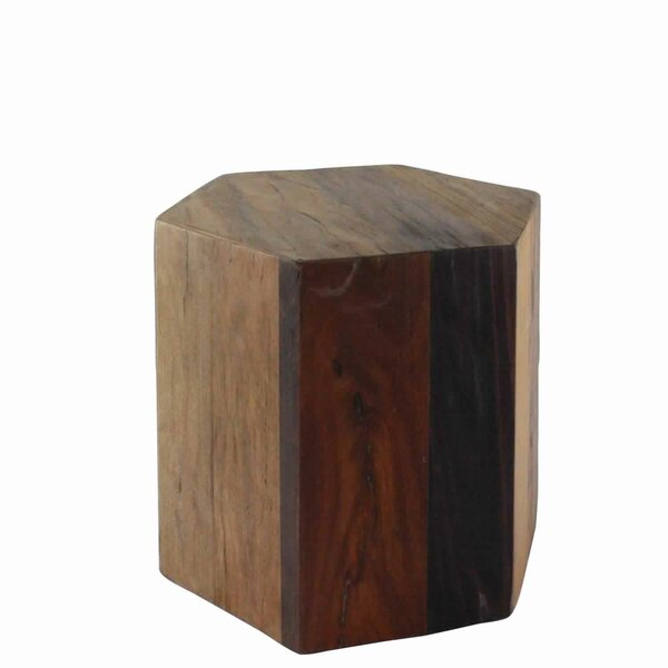 Doric Solid Wood Block End Table by Foundry Select Foundry Select