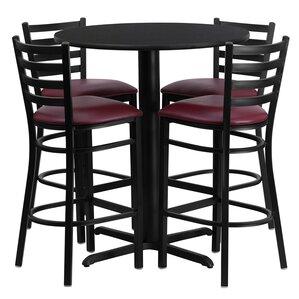 Wen 5 Piece Pub Table Set by Red Barrel Studio
