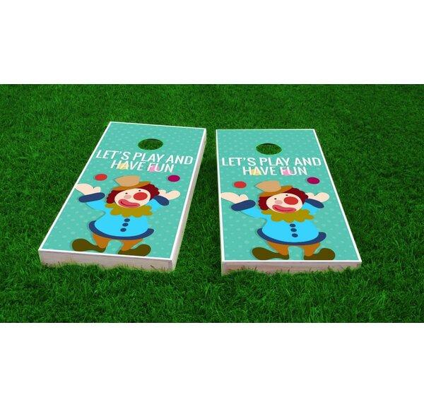 Kids Theme Light Weight Cornhole Game Set by Custom Cornhole Boards