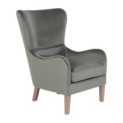 Wingback Chair Gray img