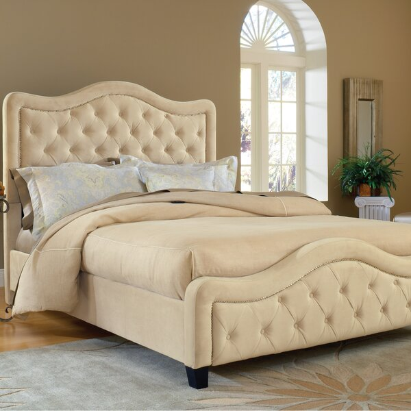 Chereen Upholstered Standard Bed by Willa Arlo Interiors