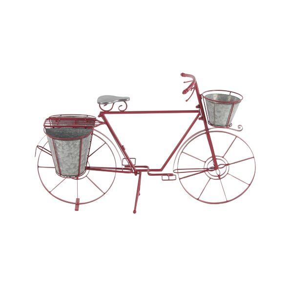 Arsenovic Bicycle Metal Pot Planter by August Grove