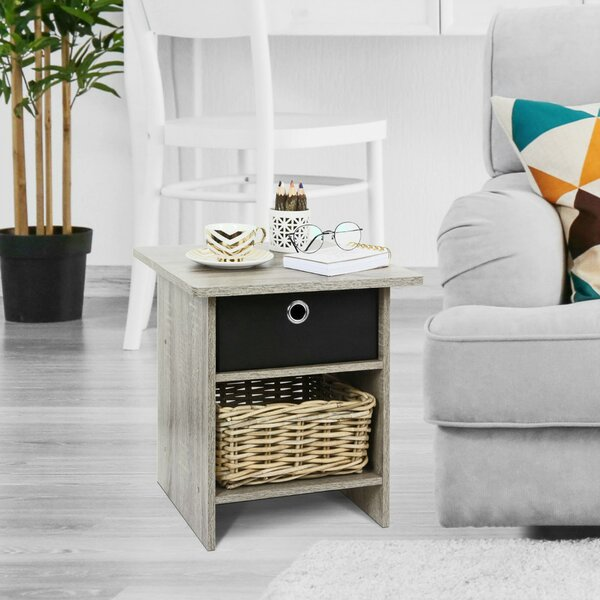 Merrillville Sled End Table with Storage by Ebern Designs Ebern Designs