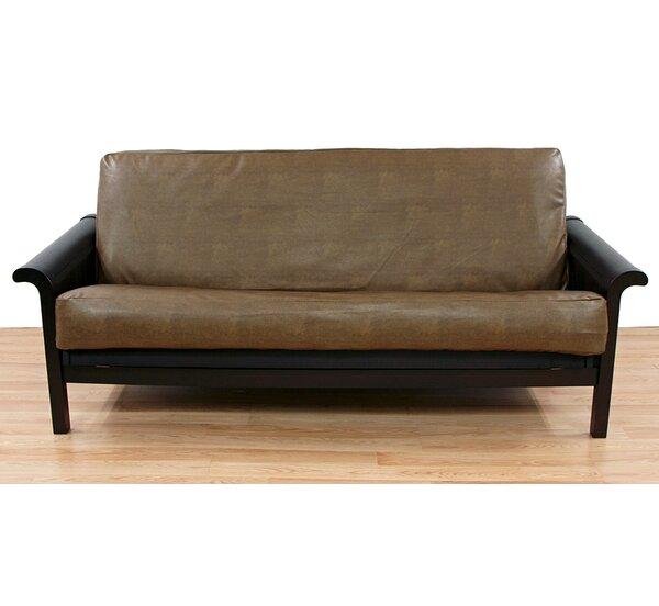 Rawhide Box Cushion Futon Slipcover by Easy Fit