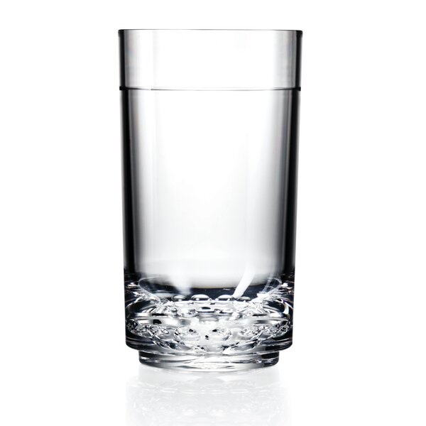 Elite 14 oz. Plastic Highball Glass (Set of 4) by Drinique