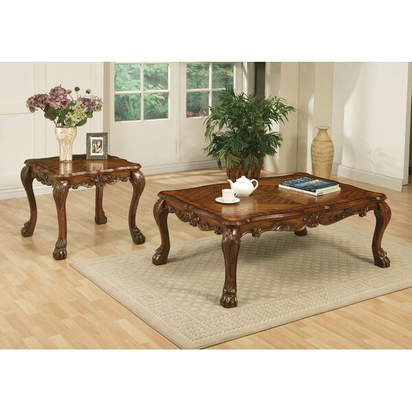 Dresden 2 Piece Coffee Table Set by A&J Homes Studio A&J Homes Studio