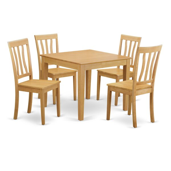 McLellen 5 Piece Dining Set by Winston Porter