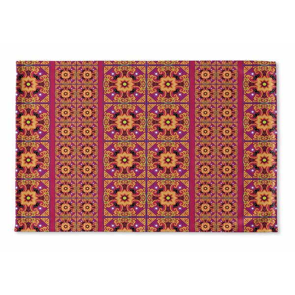 Georgeanna Flat-Weave Bath Rug by Bungalow Rose