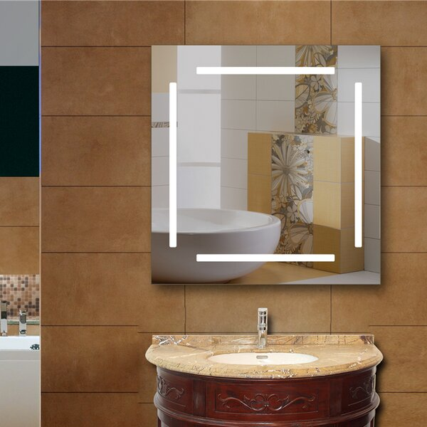 Havens LED Bathroom/Vanity Mirror by Orren Ellis