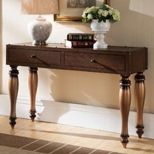 Gilded Classics Console Table by Leick Furniture