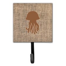 Jellyfish Leash Holder and Wall Hook by Caroline's Treasures