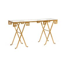 Hounslow Greek Key Console Table by Everly Quinn