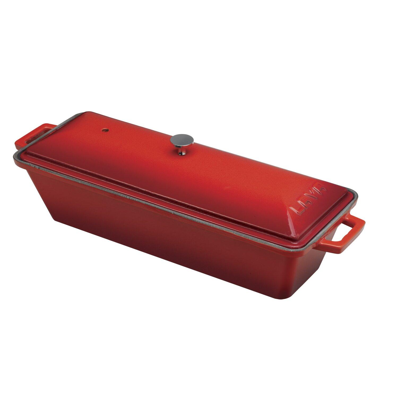 Lava Cookware Signature Enameled Cast-Iron 1.1 Qt. Bread Pan ...