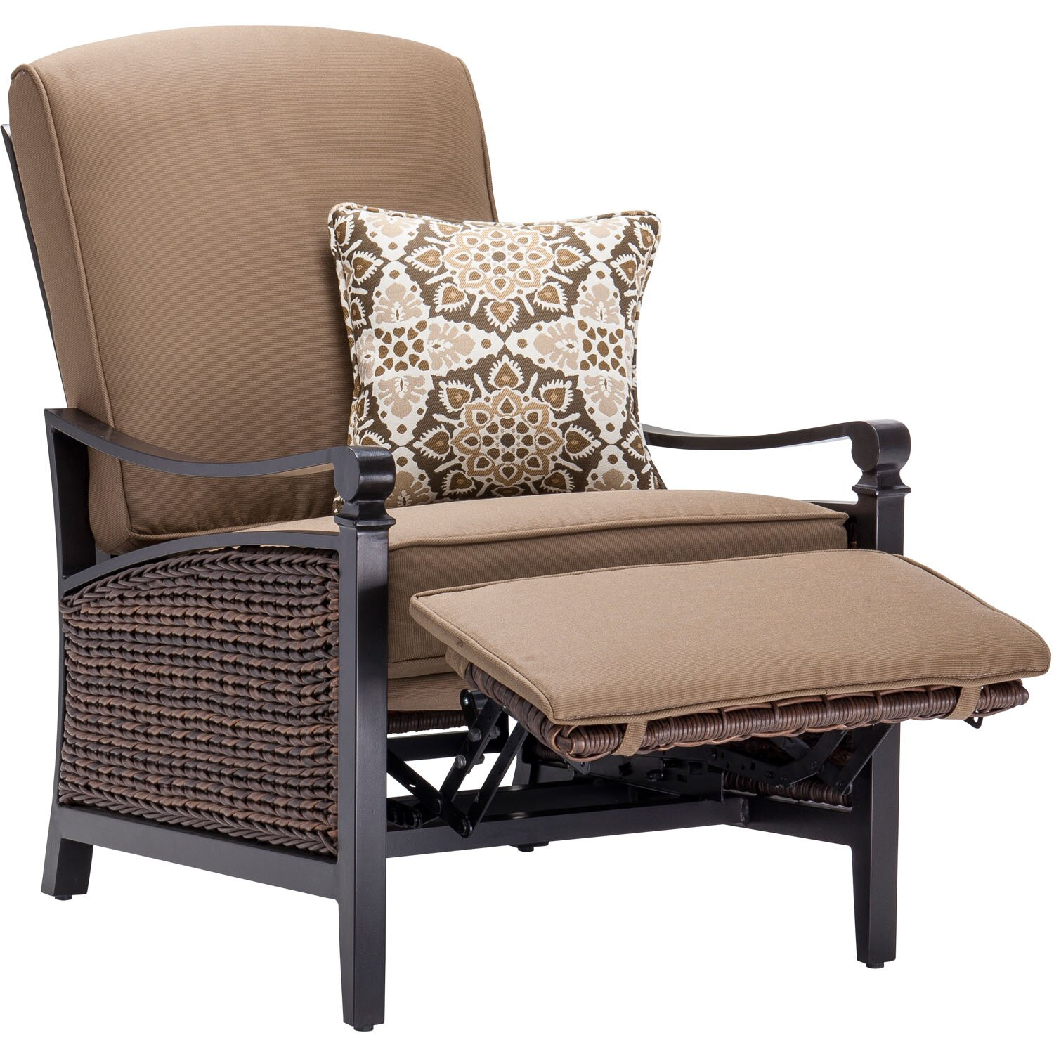 La Z Boy Carson Luxury Outdoor Recliner Chair With