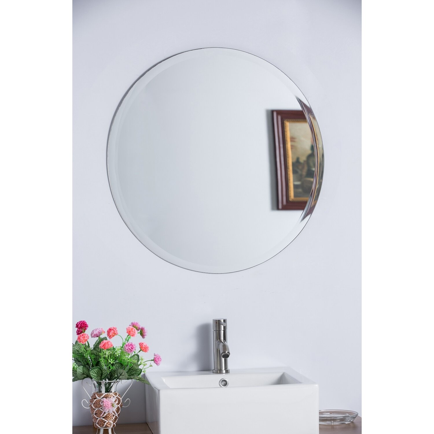 Frameless Mirrors You'll Love | Wayfair