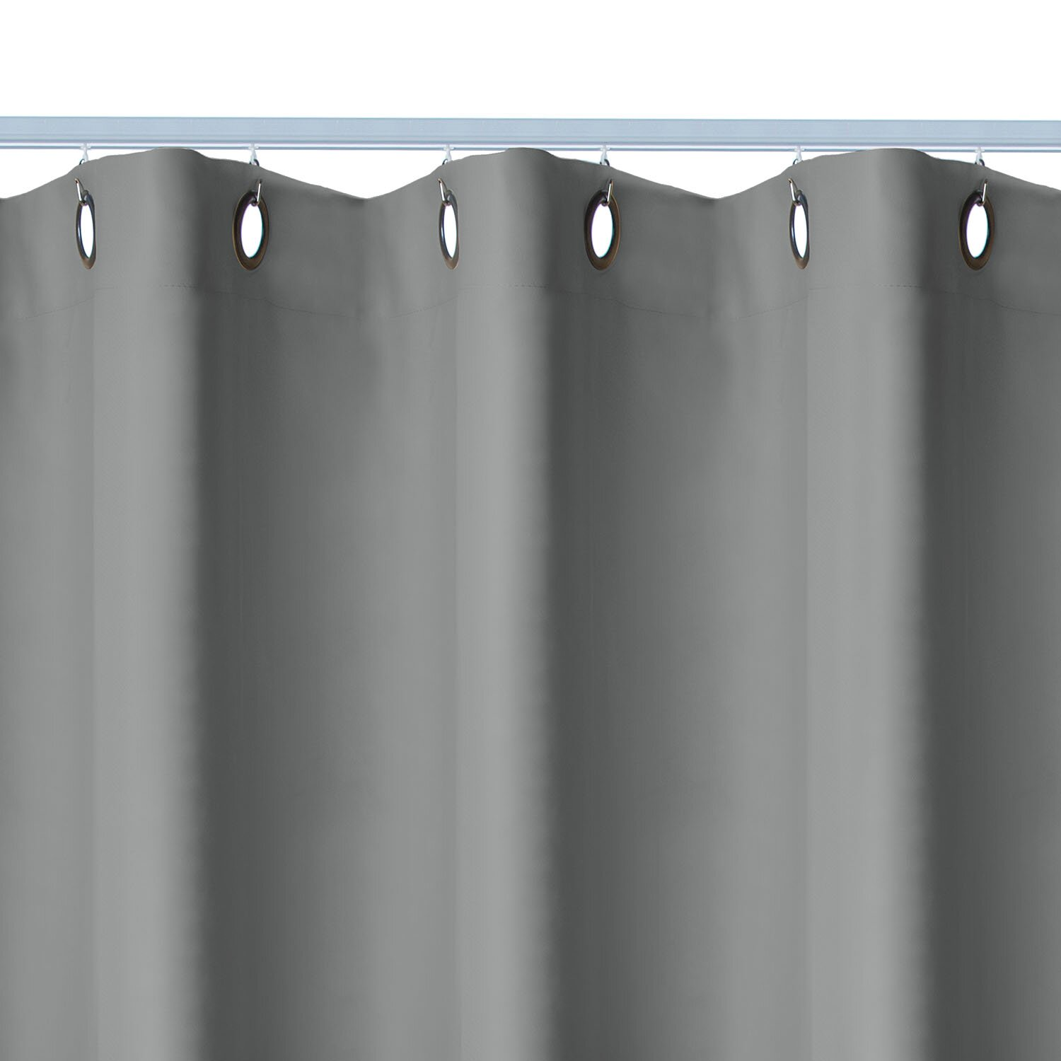 Curtain room dividers track - Premium Heavyweight Ceiling Track Room Divider Kit