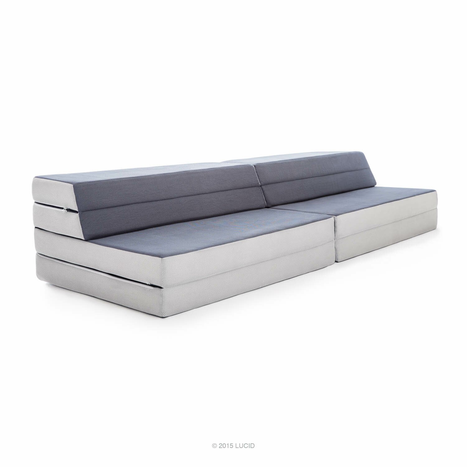 Lucid Folding 4 39 39 Firm Memory Foam Mattress Reviews