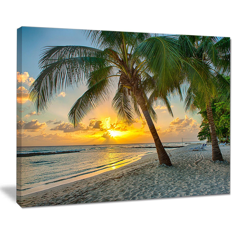 DesignArt Beach In Caribbean Island Of Barbados