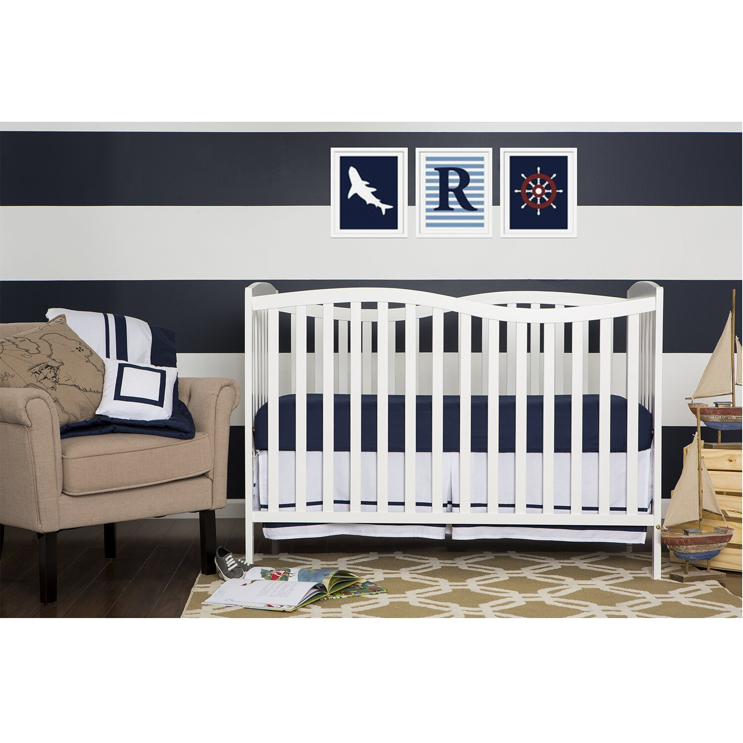 See Through Crib Baby Relax Emma 2in1 Crib N Changer