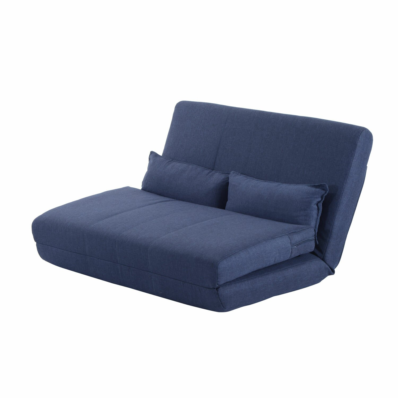homcom 2 sitzer schlafsofa clic clac. Black Bedroom Furniture Sets. Home Design Ideas