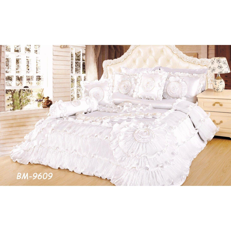 Wedding bed sheet set - Hampden Wedding Chamber Comforter Set