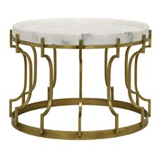 Corum Metal Coffee Table with Tray Top by Noir
