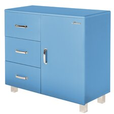 Miami 1 Door and 3 Drawer Cabinet by Phoenix Group AG