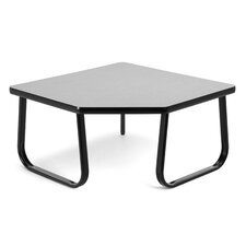 Corner Table with Sled Base by OFM