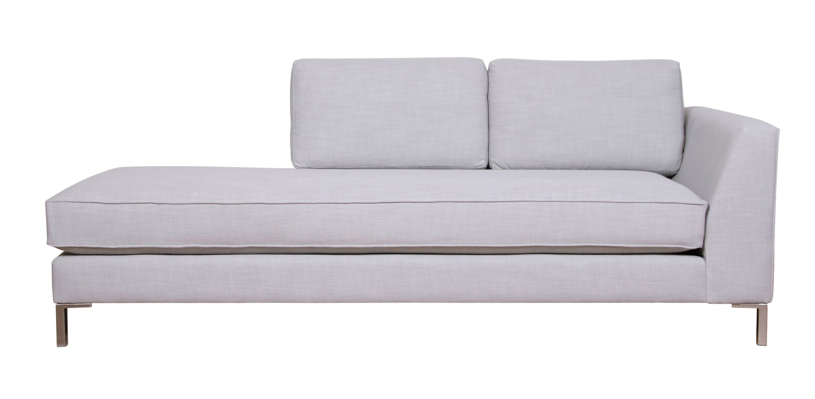modern chaise lounges  allmodern - st george chaise lounge