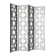80 x 72 Arachne 4 Panel Room Divider by Everly Quinn