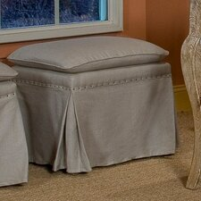 Daphne Upholstered Ottoman (Set of 2) by Sarreid Ltd