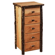 Hickory 5 Drawer Lingerie Chest by Fireside Lodge