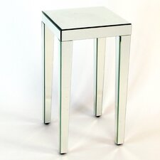 Beveled Mirror End Table by Wayborn