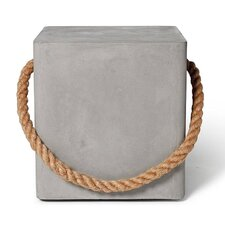 Edge Wheels and Rope Stool by Lyon Beton