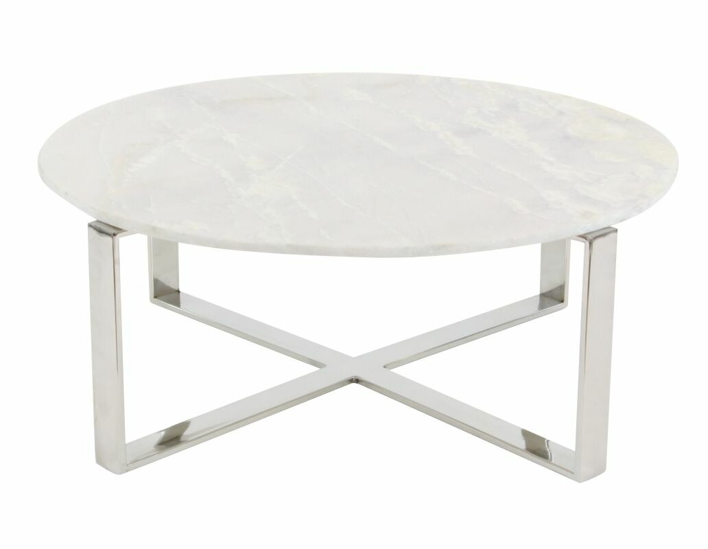 modern marble coffee tables | allmodern