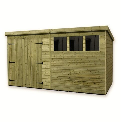 14 x 8 Wooden Garden Shed