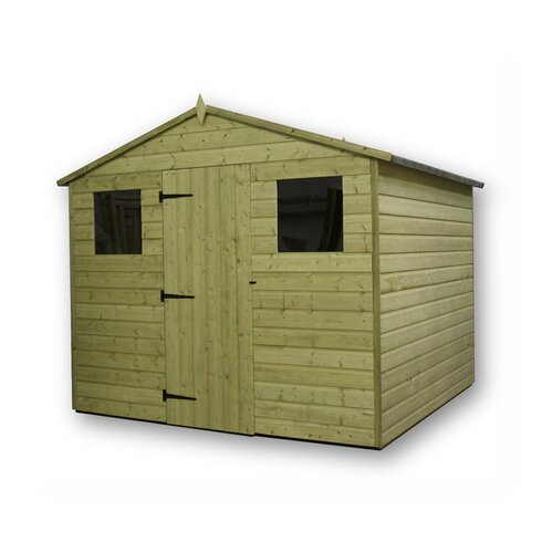 8 x 8 Wooden Storage Shed