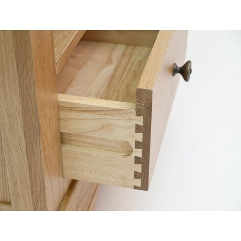 Normandy Oak 7 Drawer Chest of Drawers