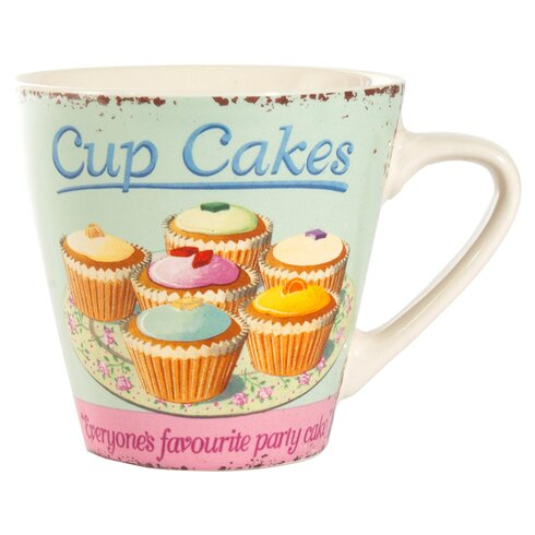 Coffee Break Cupcake Large Mug