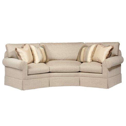 Classic Comfort Curved Back Conversation Sofa Wayfair