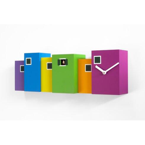 Burano Cuckoo Wall Clock