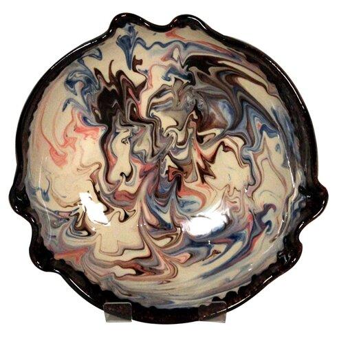 Fluted Splashy Bowl in Cream