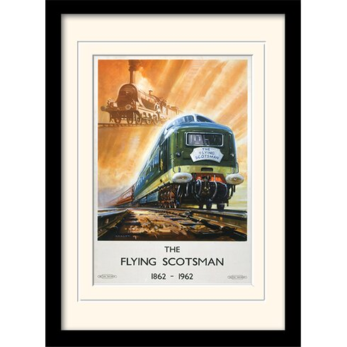 The Flying Scotsman Framed Vintage Advertisement