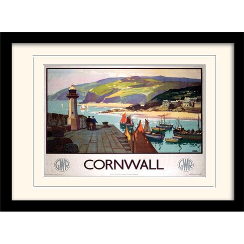 Cornwall #2 Framed Graphic Art
