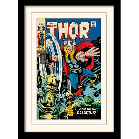 Galactus - Thor Framed Vintage Advertisement
