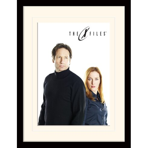 Bleached - The X-Files Framed Vintage Advertisement