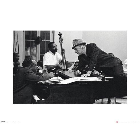 Time Life - Frank Sinatra Piano Photographic Print