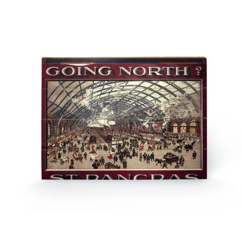 St Pancras Vintage Advertisement Plaque